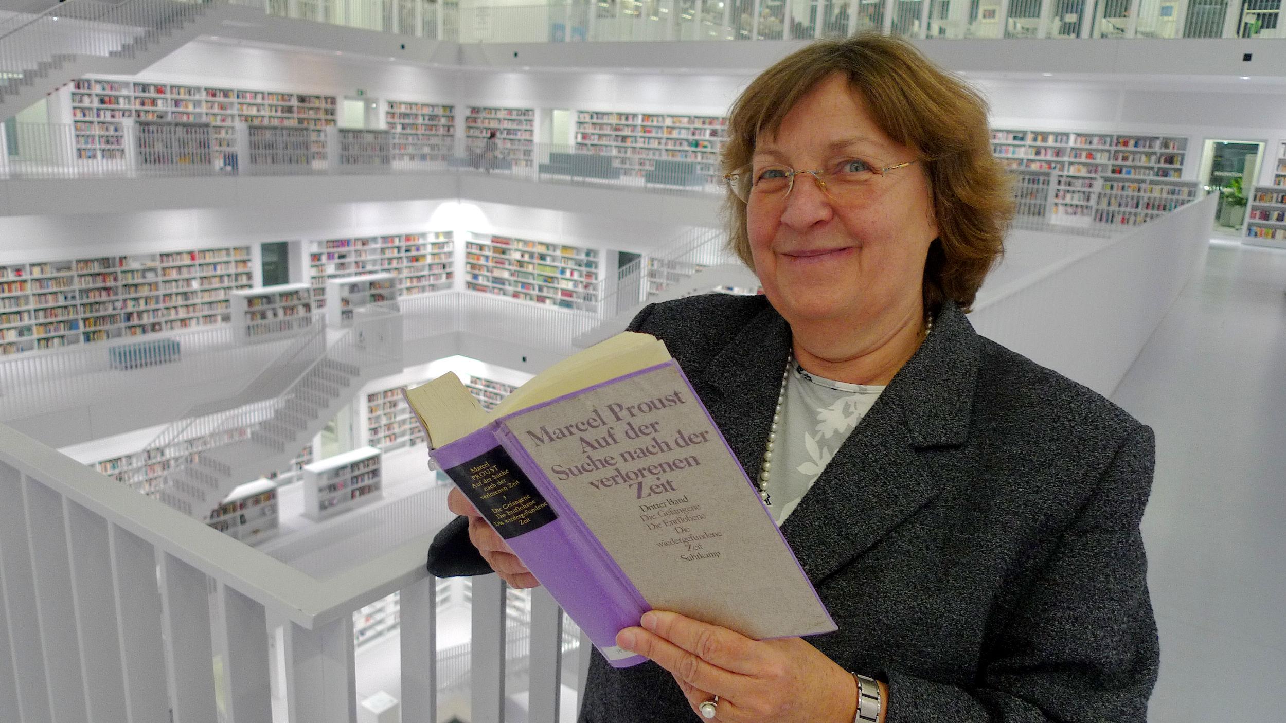 Bibliotheken sind Orte der Begegnung – Im Gespräch mit der Leiterin der Stuttgarter Bibliothek