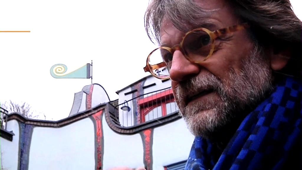 Der Architekt, der Hundertwassers Häuser baut