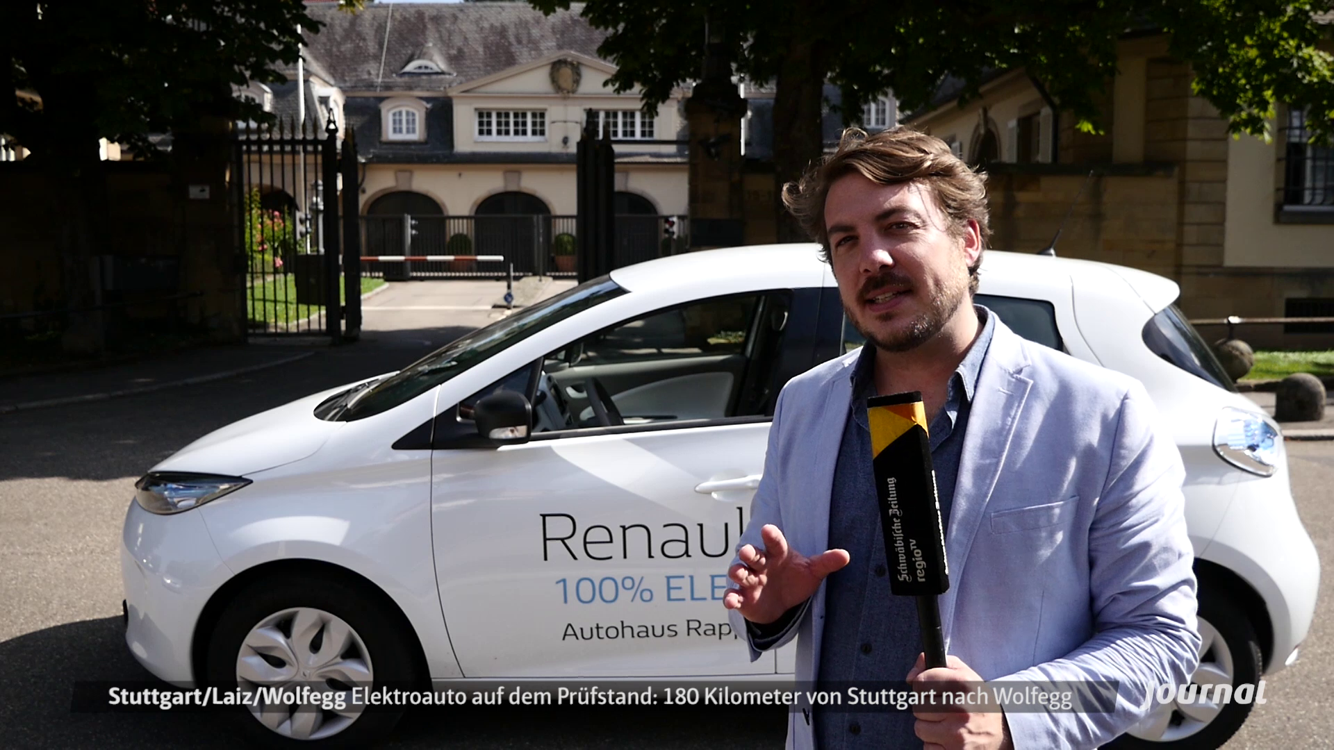 Reporter: Elektroauto Test