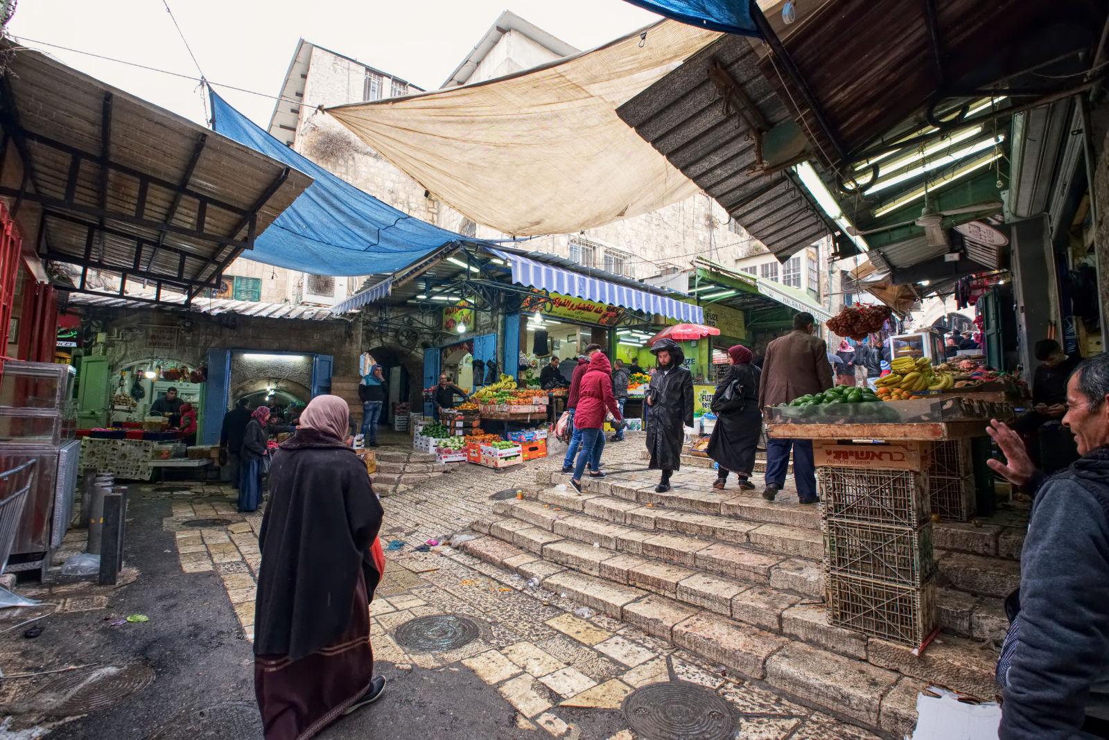 Markt in Bethlehem