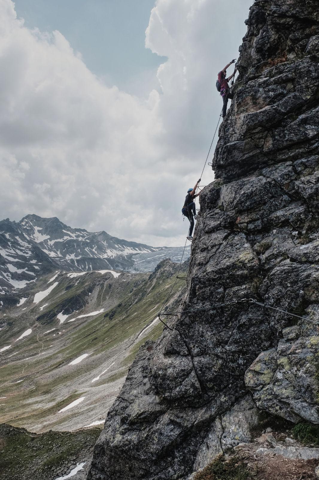Klettersteigen im Montafon