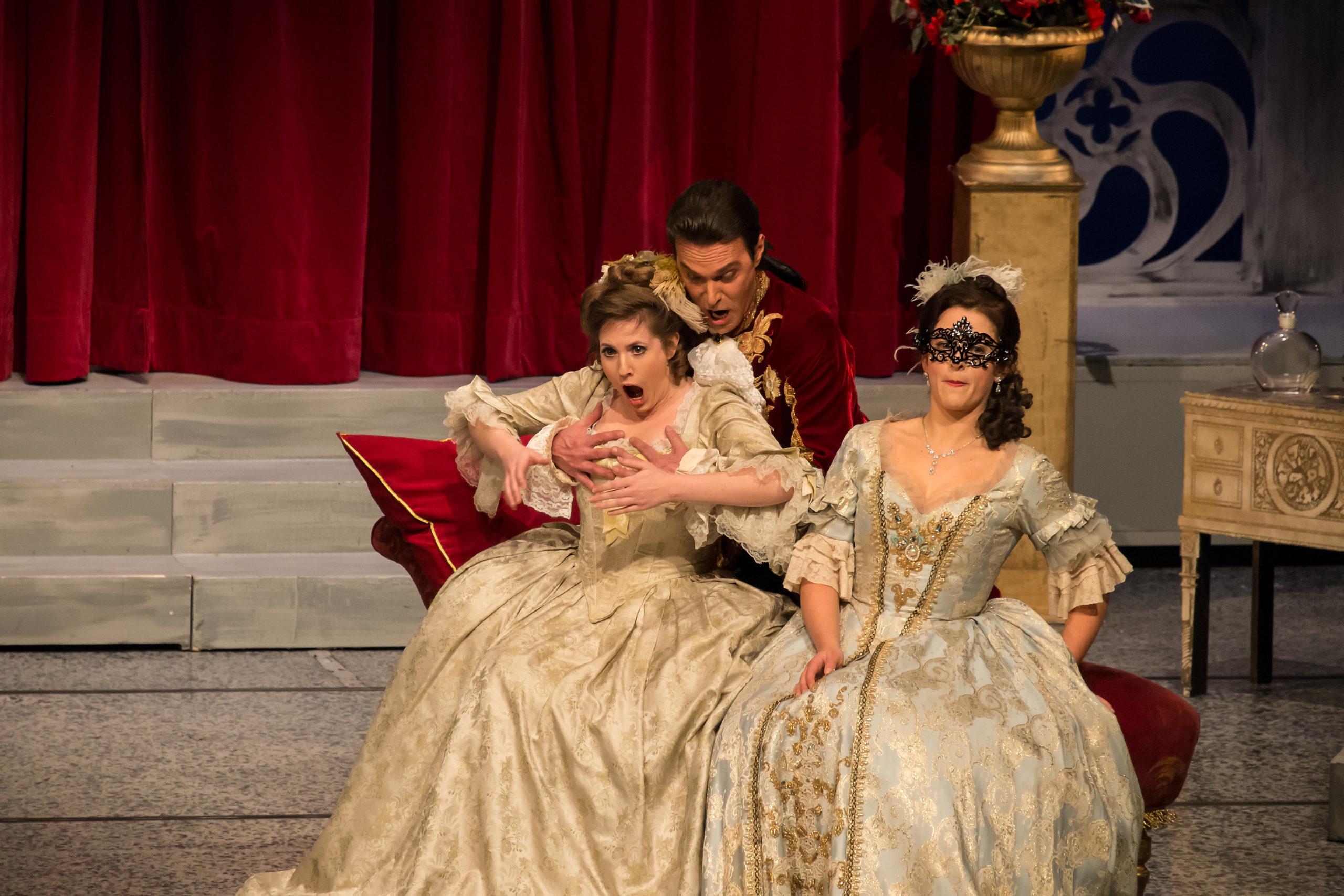 Ooops in der Oper